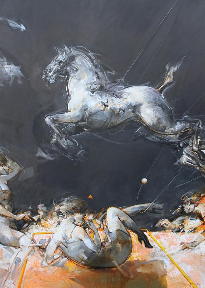 Saltarelli Springendes Pferd