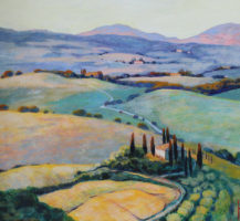 Herbst Val d´Orcia