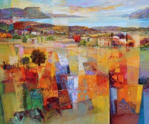 Mario Malfer Südliche Landschaft