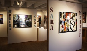 Die Ausstellung von Sara Malfer im November 2015