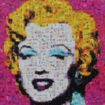Marylin nach Warhol in Pink