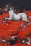 Saltarelli - cavallo bianco