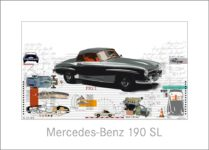 Leslie G. Hunt Mercedes Benz 190 SL