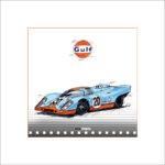 Gulf Porsche 917, 30 x 30 cm, limitiert