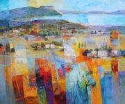 Südliche Landschaft by Mario Malfer