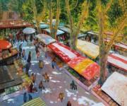 Herbst Markt im Süden