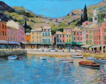 Portofino von Uwe Herbst 60 x 80