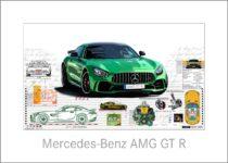 Leslie G. Hunt Mercedes GT R