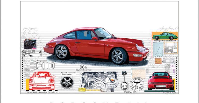 Leslie G. Hunt Porsche 964