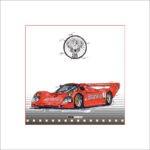 Leslie G. Hunt - Porsche 962 Jägermeister