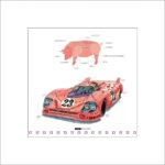 Leslie G. Hunt Porsche Pink Pig