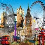 London by Leslie G. Hunt