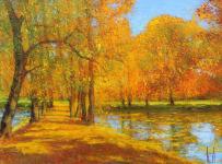 Uwe Herbst Park im Herbst