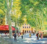 Herbst Sommer in Aix en Provence