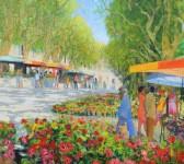 Herbst Blumenmarkt