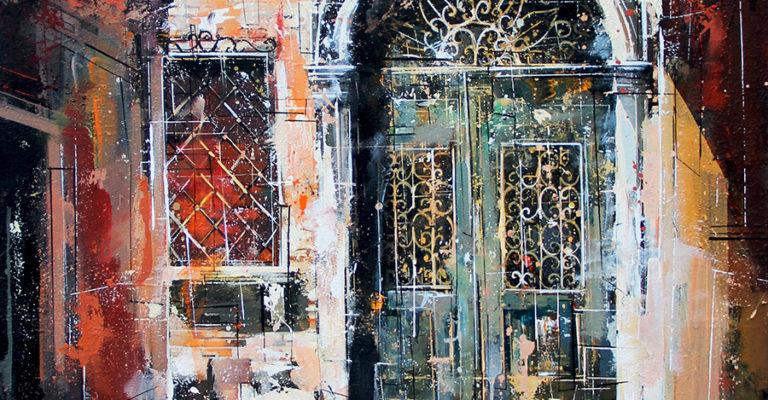 "MITRO ""Encore et Toujour"" 116 x 89 cm Mischtechnik auf Leinwand"
