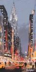 "MITRO ""Vers le ciel"" 100 x 50 cm Mischtechnik auf Leinwand"
