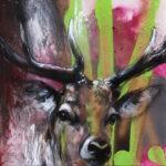 Deer Native 40/40 by Ilona Griss-Schwärzler