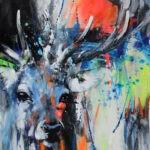 Deer Vivid 100/100 by Ilona Griss-Schwärzler