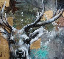 Deer Gold 100/120 by Ilona Griss-Schwärzler