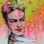 Frida Kahlo by Ilona Griss-Schwärzler