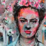 Tribute to Frida 100/100 by Ilona Griss-Schwärzler