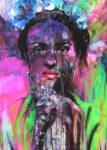 Tribute to Frida 140/100 by Ilona Griss-Schwärzler