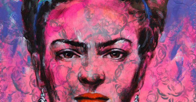 Tribute to Frida 60/60 by Ilona Griss-Schwärzler