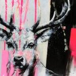 Deerpink by Ilona Griss-Schwärzler