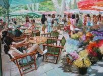 Flowermarket by Henri Lepetit