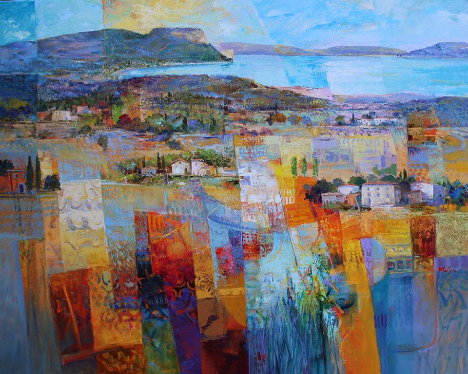 Malfer Landschaft Gardasee