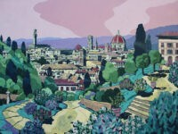 Firenze Rosegarden by Ulrich Hartig