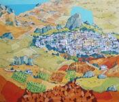 Paesaggio Sicano by Ulrich Hartig