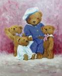 Teddygruppe von Gerhard Arnold
