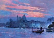 Uwe Herbst Sonnenuntergang Venedig