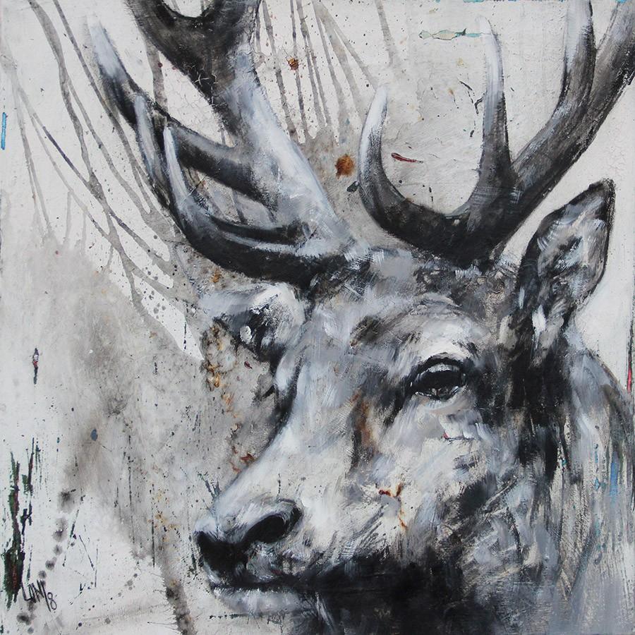 Deershabby by Ilona Griss-SChwärzler