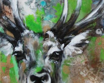Deergreen von Ilona Griss-Schwärzler