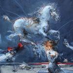 Das Pferd und die Ballerina von Saltarelli