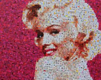 Marylin in Pink by Iliye Zhelev