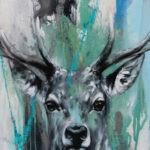 Deerwhite (A) by Ilona Griss-Schwärzler