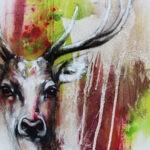 Deergold (Red) by Ilona Griss-Schwärzler