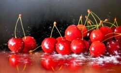Cherries by Heinz Schölnhammer