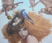 Hawk Attack by Michael Maschka