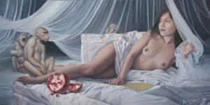 Im Boudoir by Michael Maschka