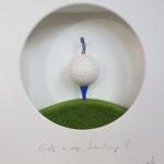 """""""Golf is my Handycap"""" (Abschlag)"""