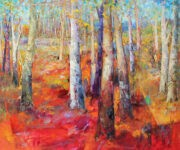 Bäume 100 x 120 by Mario Malfer