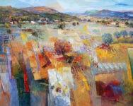 Südliche Landschaft 80 x 100 by Mario Malfer