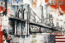 Uli Knauer - New York Brooklyn Bridge - 80 x 120 cm