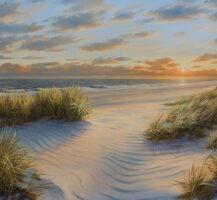 Strand in der Sonne by Karsten Meiwald